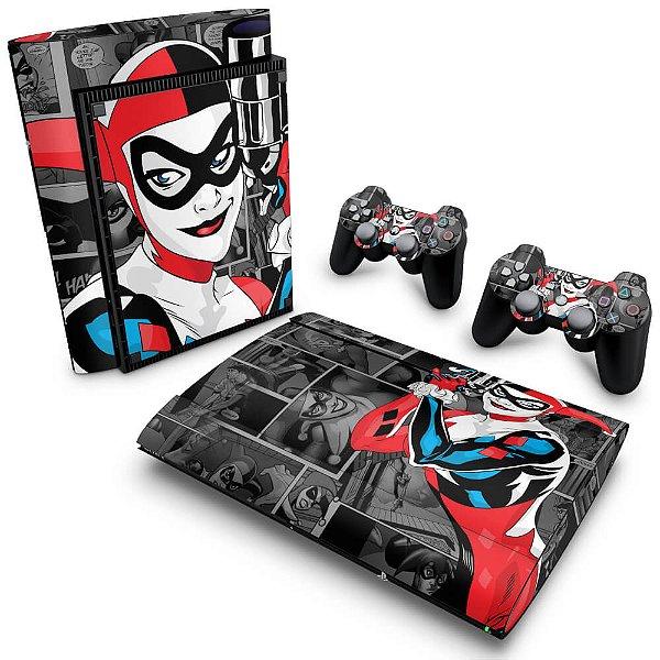 PS3 Super Slim Skin - Arlequina Harley Quinn