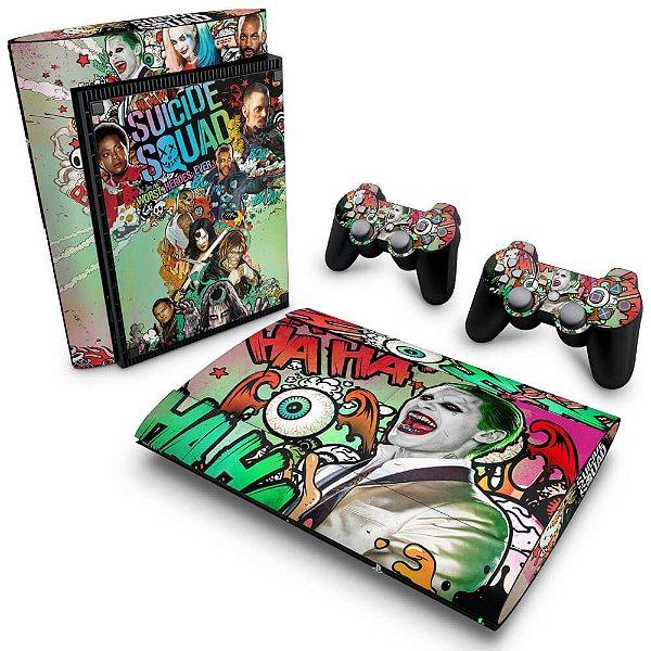PS3 Super Slim Skin - Esquadrão Suicida #B