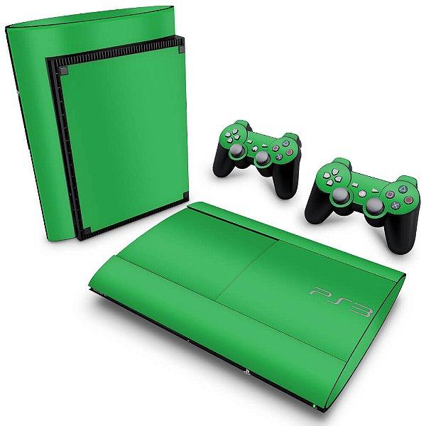 PS3 Super Slim Skin - Verde