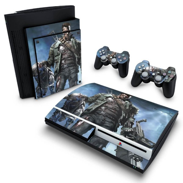 PS3 Fat Skin - Terminator 3 The Redemption