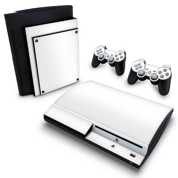 PS3 Fat Skin - Branco