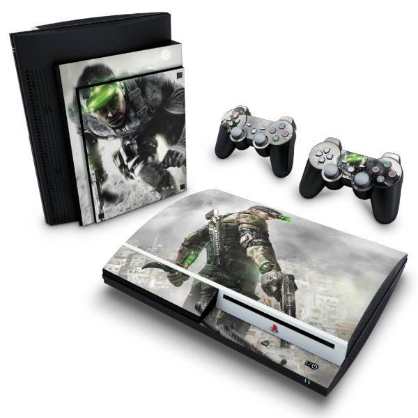 PS3 Fat Skin - Splinter Cell Blacklist