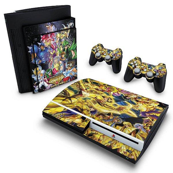 PS3 Fat Skin - Cavaleiros do Zodiaco