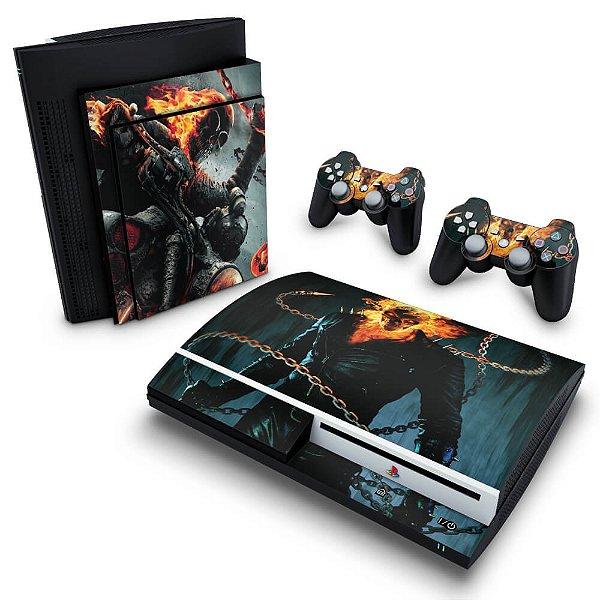 PS3 Fat Skin - Ghost Rider - Motoqueiro Fantasma #B