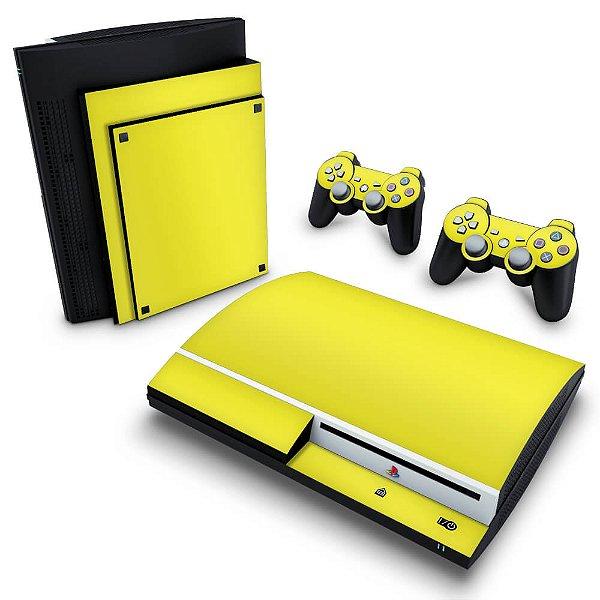 PS3 Fat Skin - Amarelo