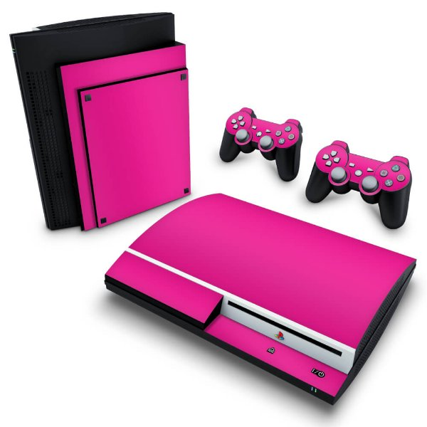 PS3 Fat Skin - Rosa Pink