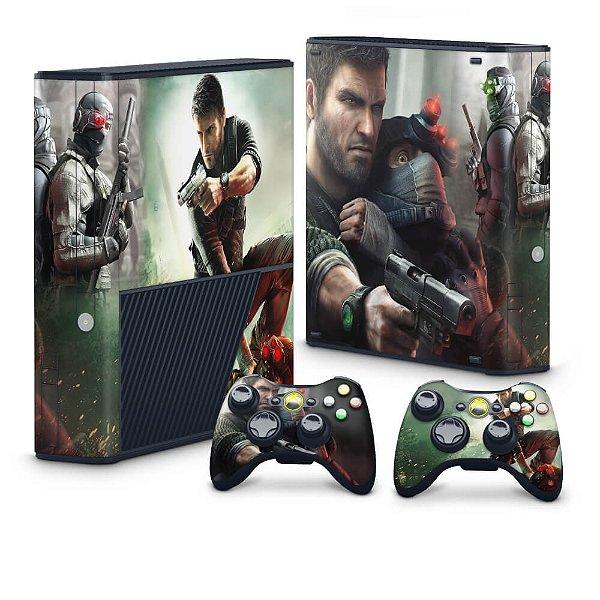Xbox 360 Super Slim Skin - Splinter Cell Conviction