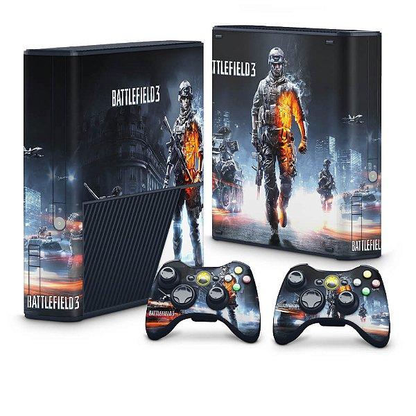 Xbox 360 Super Slim Skin - Battlefield 3