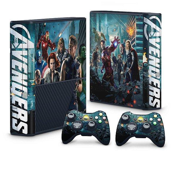 Xbox 360 Super Slim Skin - The Avengers - Os Vingadores