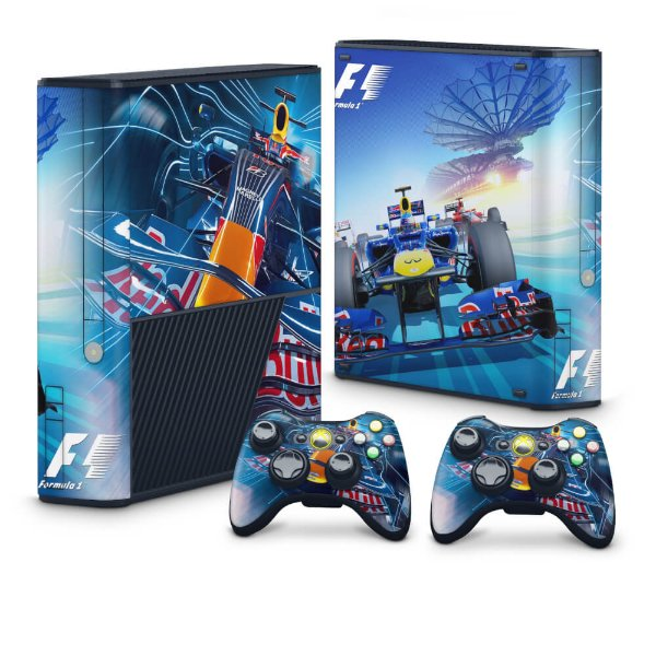 Xbox 360 Super Slim Skin - Formula 1 #A