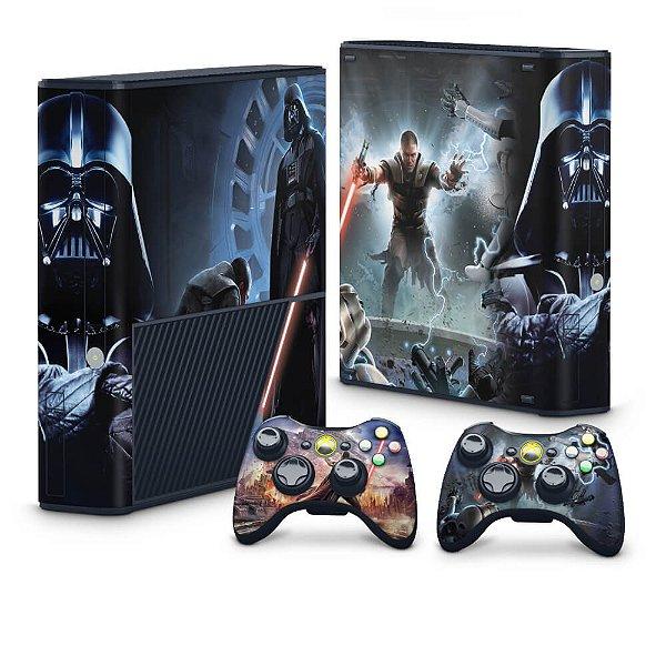 Xbox 360 Super Slim Skin - Star Wars The Force Unleashed