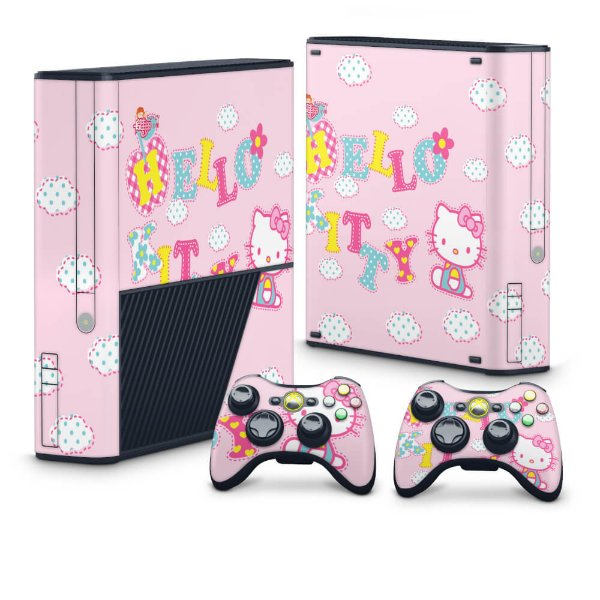 Xbox 360 Super Slim Skin - Hello Kitty