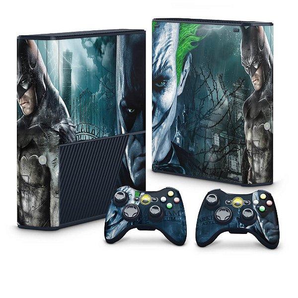 Xbox 360 Super Slim Skin - Batman Arkham Asylum