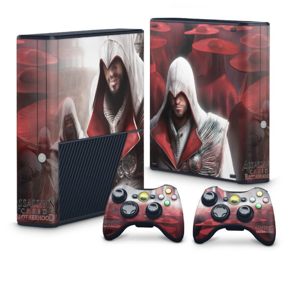 Xbox 360 Super Slim Skin - Assassins Creed Brotherwood #A