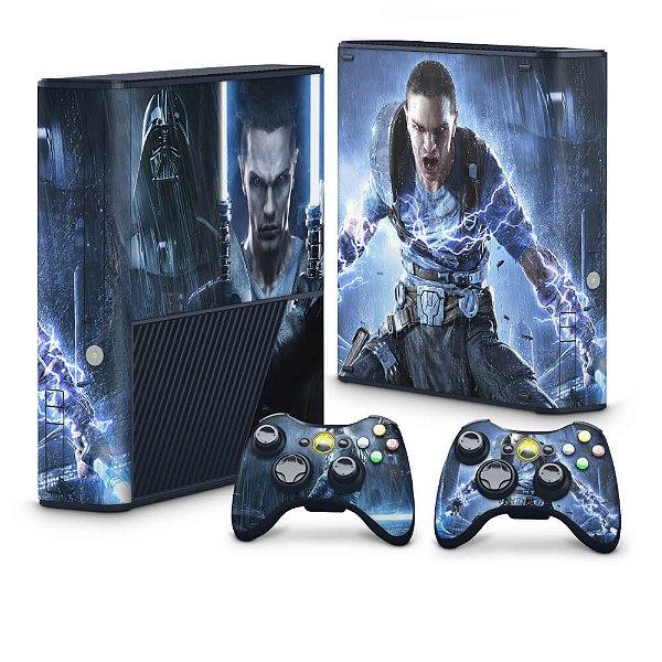 Xbox 360 Super Slim Skin - Star Wars The Force Unleashed 2