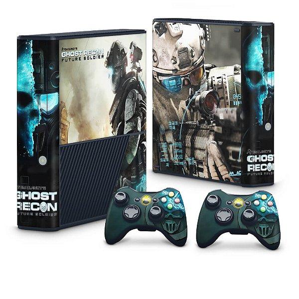 Xbox 360 Super Slim Skin - Ghost Recon Future Soldier