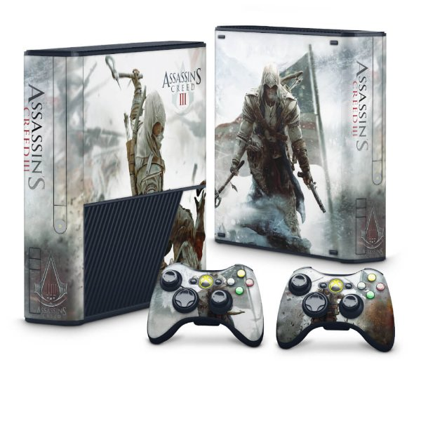 Xbox 360 Super Slim Skin - Assassins Creed 3