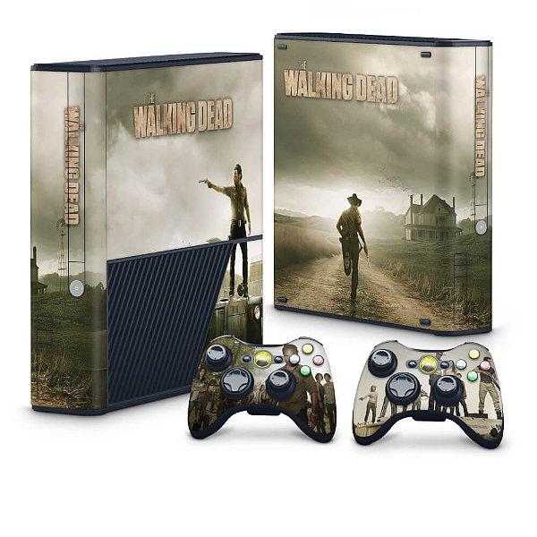 Xbox 360 Super Slim Skin - The Walking Dead #B