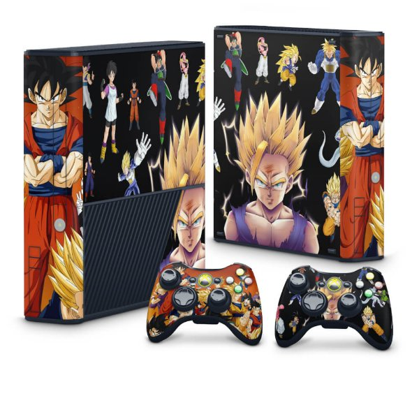 Xbox 360 Super Slim Skin - Dragon Ball Z