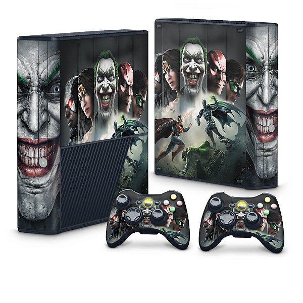 Xbox 360 Super Slim Skin - Injustice