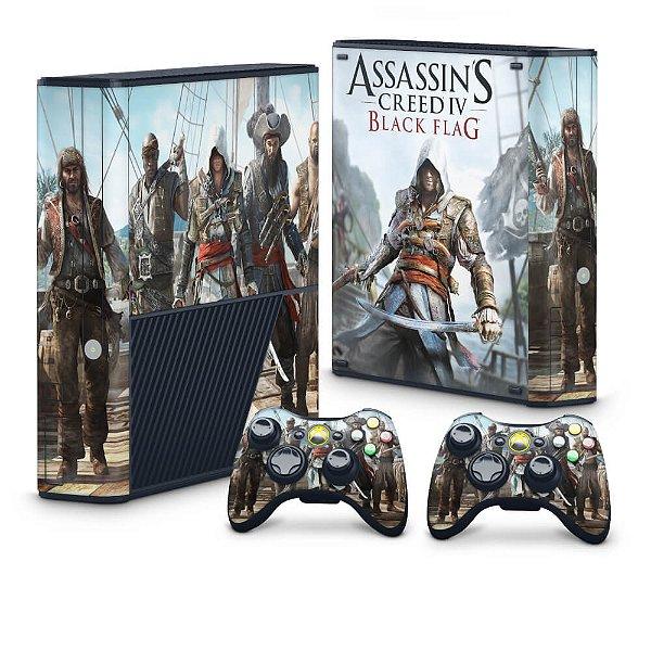 Xbox 360 Super Slim Skin - Assassins Creed IV Black Flag