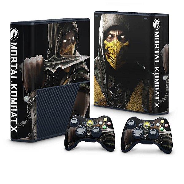 Xbox 360 Super Slim Skin - Mortal Kombat X Scorpion