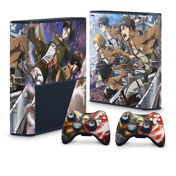 Xbox 360 Super Slim Skin - Attack on Titan #A
