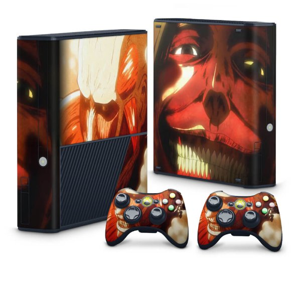 Xbox 360 Super Slim Skin - Attack on Titan #B