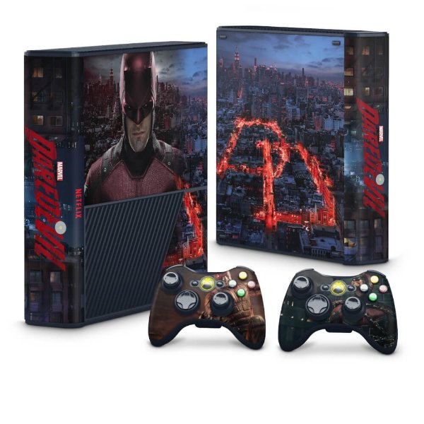 Xbox 360 Super Slim Skin - Daredevil Demolidor