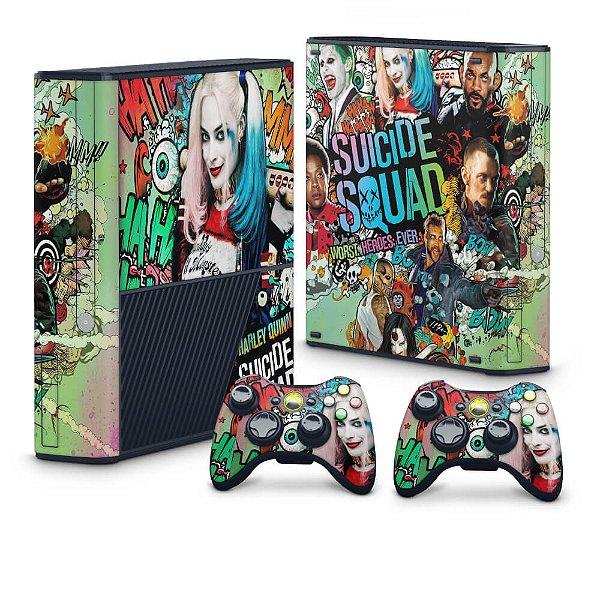 Xbox 360 Super Slim Skin - Esquadrão Suicida #A