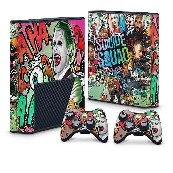 Xbox 360 Super Slim Skin - Esquadrão Suicida #B