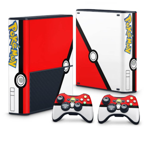 Xbox 360 Super Slim Skin - Pokemon Pokebola