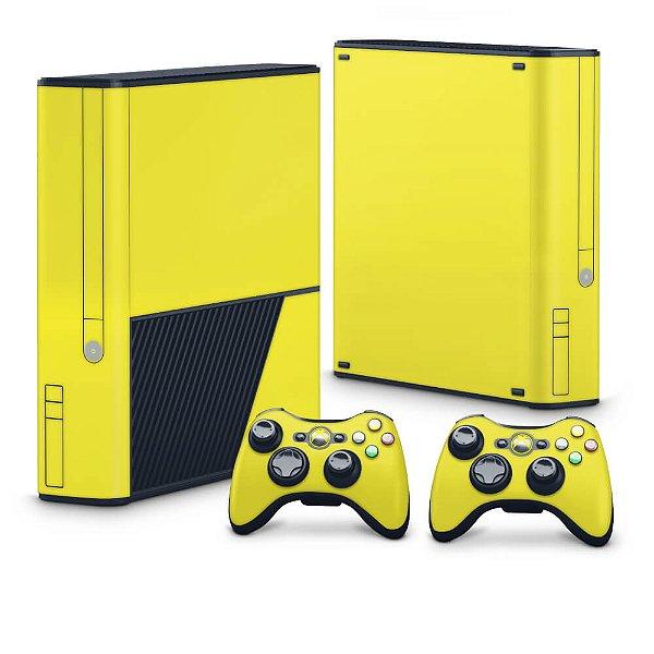 Xbox 360 Super Slim Skin - Amarelo