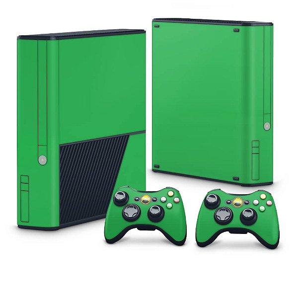 Xbox 360 Super Slim Skin - Verde