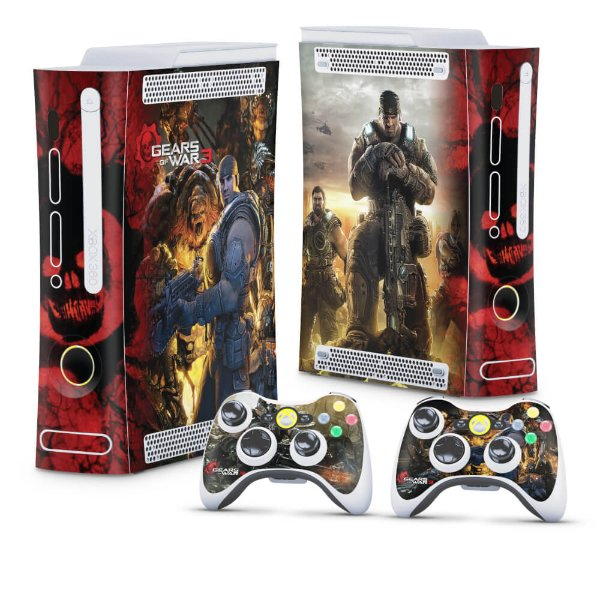 Xbox 360 Fat Skin - Gears of War 3