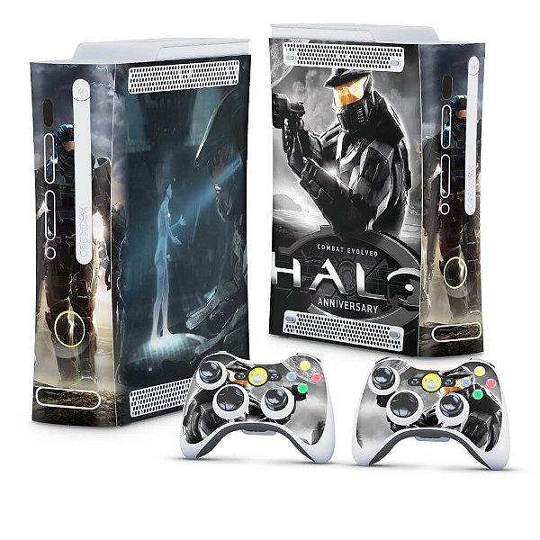Xbox 360 Fat Skin - Halo Anniversary
