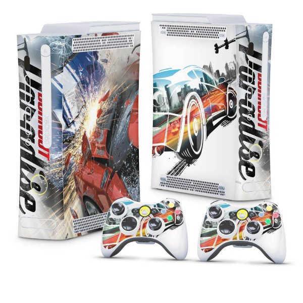 Xbox 360 Fat Skin - Burnout Paradise
