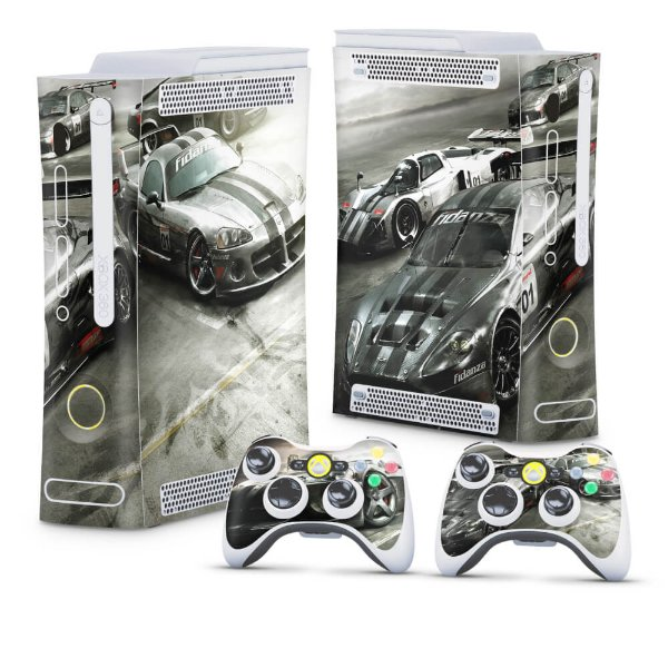 Xbox 360 Fat Skin - Race Driver Grid