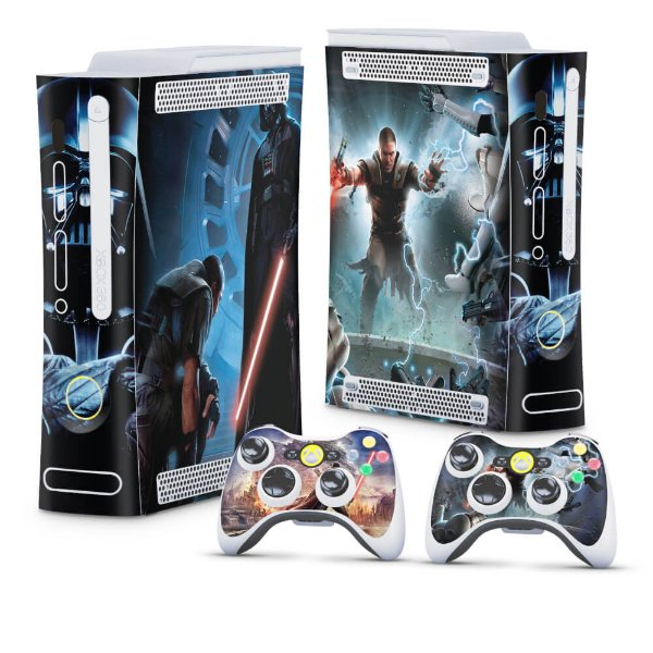 Xbox 360 Fat Skin - Star Wars The Force Unleashed