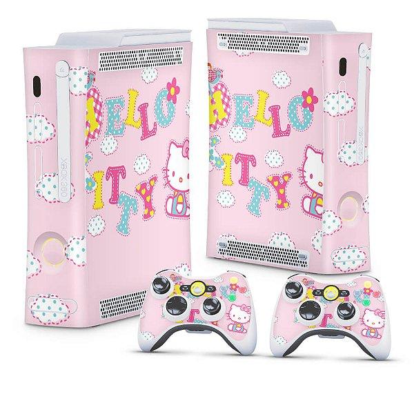 Xbox 360 Fat Skin - Hello Kitty