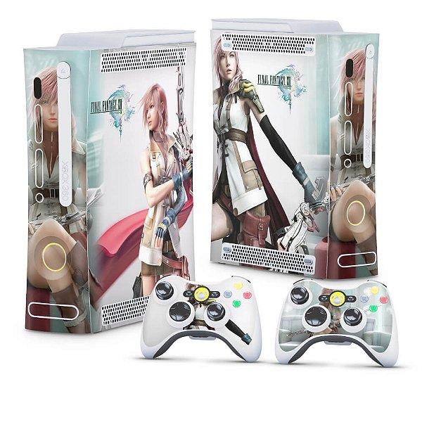 Xbox 360 Fat Skin - Final Fantasy XIII #A