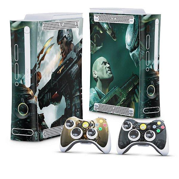 Xbox 360 Fat Skin - Aliens vs Predators