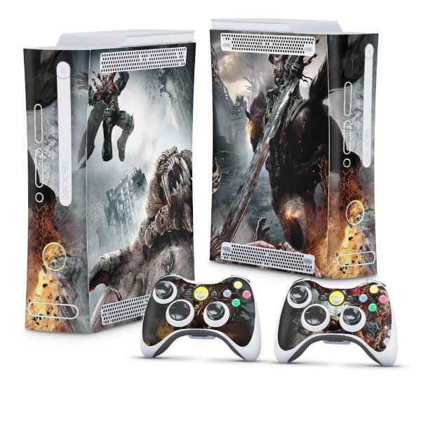 Xbox 360 Fat Skin - Darksiders Wrath of War