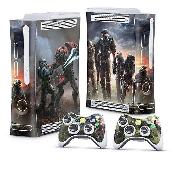 Xbox 360 Fat Skin - Halo Reach