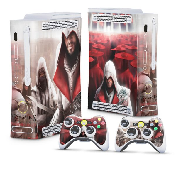 Xbox 360 Fat Skin - Assassins Creed Brotherwood #A