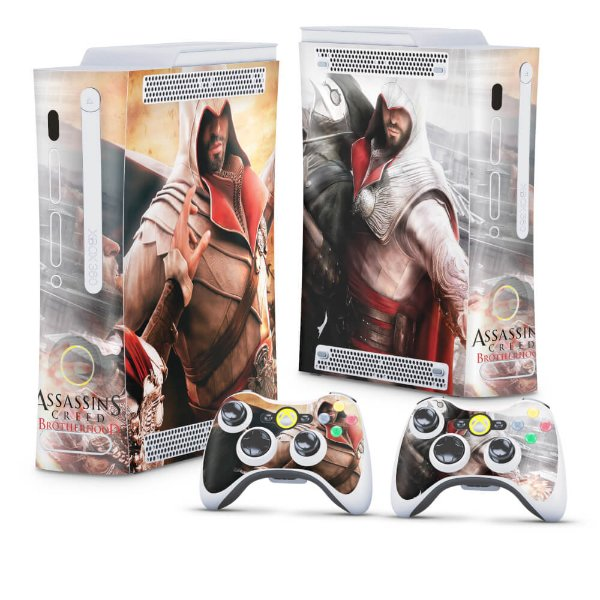 Xbox 360 Fat Skin - Assassins Creed Brotherwood #B