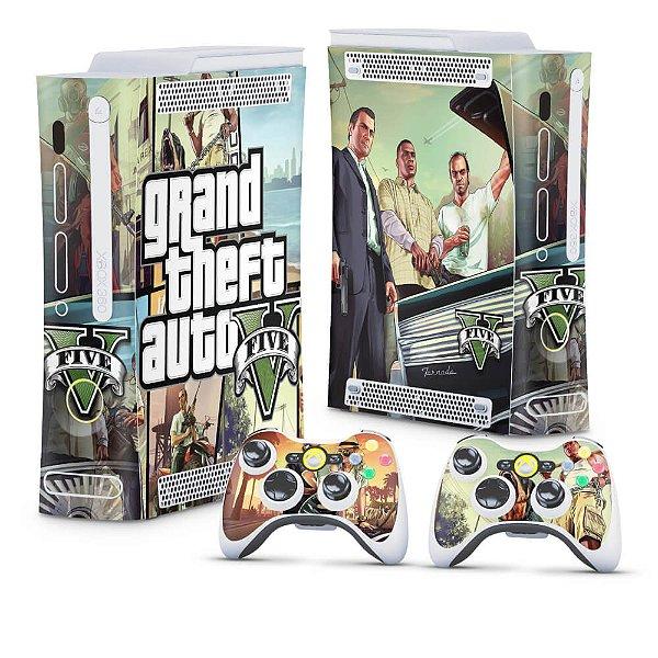 Xbox 360 Fat Skin - GTA V