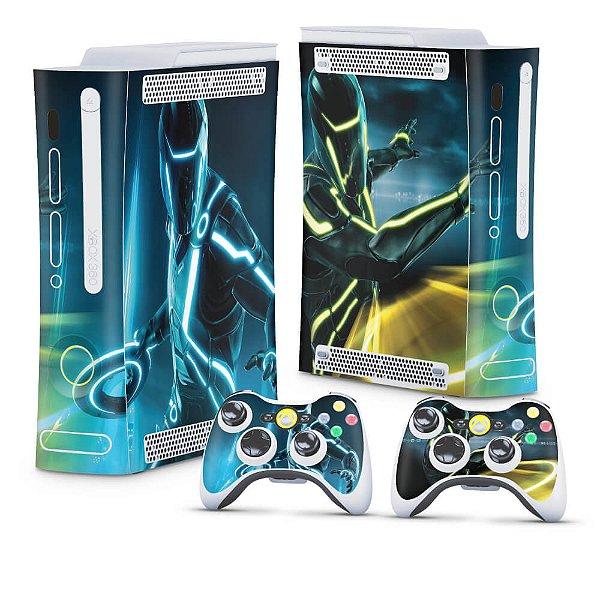 Xbox 360 Fat Skin - Tron