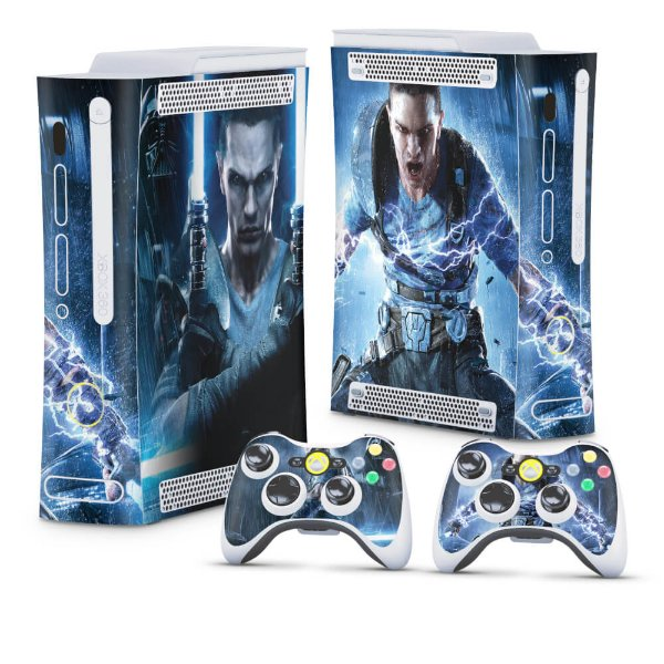 Xbox 360 Fat Skin - Star Wars The Force Unleashed 2