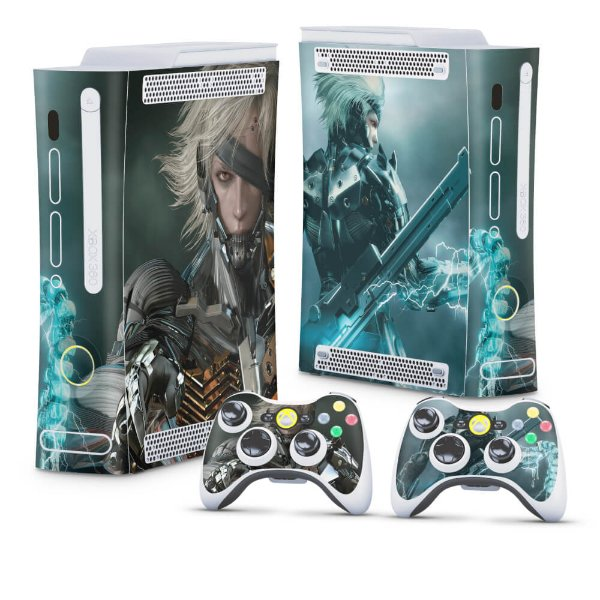 Xbox 360 Fat Skin - Metal Gear Solid Rising